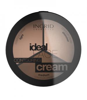"""Paleta za obraz """"Ideal face contouring cream"""""""