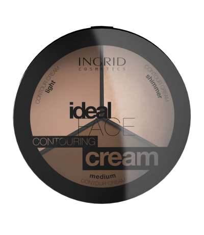 "Paleta za obraz ""Ideal face contouring cream"""